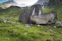 Felbertauern - boulder in Austria