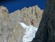 Sul Pilastro Sud del Freney, nel cuore del Monte Bianco. Di Enrico Bonino