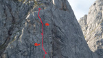 Zeitgeist on Roßkopf, new rock climb by Haid and Klingler in Austria