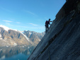 Greenland, new big walls climbed by small British expedition