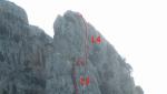 Torri di Canolo, new rock climb in Italys' Aspromonte