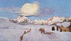 Reinhold Messner: Amo Segantini, la sua luce fa brillare le montagne