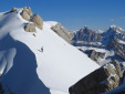 Monte Pelmetto, Dolomites: the ski descent by Francesco Vascellari and Loris De Barba