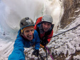 Tim Emmett and Klemen Premrl repeat Overhead Hazard at Helmcken Falls