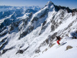 Tour Noir South Ridge first ski descent by Merikanto and Heimonen
