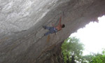 Halupca 1979, new 9a for at Ospo by Matej Sova