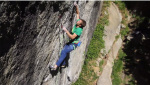Michael Piccolruaz frees Helmutant 9a at Saustall