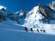 Corso aspiranti guida alpina 2013 - 2014: esame di sci alpinismo in Valle d'Aosta