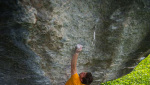 Stefano Ghisolfi frees TCT 9a at Gravere