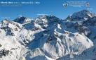 Monte Zebrù e la via normale dal Rifugio Quinto Alpini
