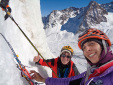 New ice climbs in Chile by Cecilia Buil and Anna Torretta in Chile