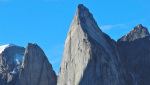 Shark's Tooth, new climb in Greenland by Della Bordella, Schüpbach and Ledergerber