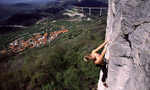 Crni Kal, climbing in Slovenia
