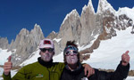 Cerro Torre Ragni route for Bernasconi and Salini