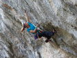 Anak Verhoeven climbs 8c+ at the Gorges du Loup