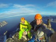 Greenland new rock climbs by Ralph Villiger and Harald Fichtinger