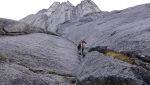 Bilibino big walls climbed by Australians in Russia