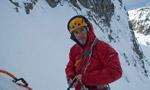 Dave Macleod sale una nuova via nelle Mamores, Scozia