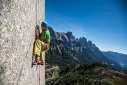 Pinne gialle, new climb by Manolo at Tognazza
