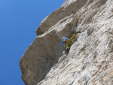 New route by Simon Kehrer and Christoph Hainz up Sas Ciampac in the Dolomites