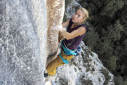 Federica Mingolla repeats Tom et je ris 8b+ in the Verdon Gorge