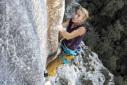 Federica Mingolla repeats Tom et je ris 8b+ in the Verdon Gorge