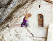 Angela Eiter climbs 9a: Hades at Götterwandl in Austria