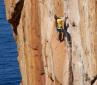 Augmentium, la via trad più difficile della Tasmania