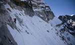 Ines Papert and Cory Richards add new route to Kwangde Shar, Nepal