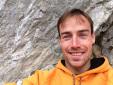 Günther Karbon climbs 8c+ at Pian Schiavaneis, Dolomites