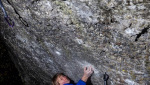 Alexander Megos climbs Sonic Kaboom 9a in Frankenjura