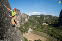 Petzl RocTrip 2014: climbing  at Meteora in Greece