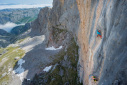 Orbayu, the climbing Odyssey with Nina Caprez and Cédric Lachat
