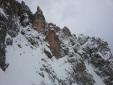 Mulaz, il canalone ovest ed una bella giornata con gli sci