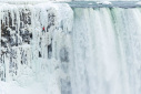 Will Gadd and Sarah Hueniken climb the Niagara Falls