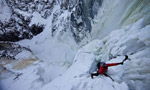 Will Gadd ice climbing fest in Canada