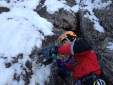 Sappada abseil stations replaced on ice climbs