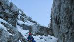 Alpinismo invernale sulle Alpi Apuane