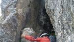 Via Ventura, première e arrampicata in Vallunga