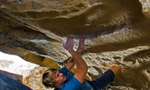 Nalle Hukkataival, three 8B's at Hueco Tanks