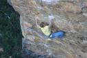 Alexander Megos climbs Australia's second 9a