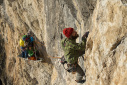 Catastrofa, nuova via d'arrampicata su Crap de Scegn in Alta Valtellina