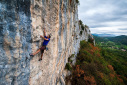Kompanj sport climbing in Istria, Croatia