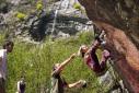 Melloblocco - day 3, solar energy climbing