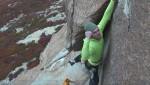 Video: Sean Villanueva and Siebe Vanhee climb Sifuentes - Monti on Aguja Frey