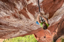 Logan Barber breaches The Firewall at Liming, the hardest trad route in China
