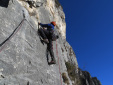 Spirito Baldense, new multi-pitch rock climb Val d'Adige, Italy