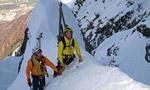 Cittadini della Galassia 1a discesa con gli sci per Lafranconi, Pina e Marazzi