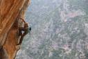 Nifada, Angela Eiter and Bernie Ruech climb untouched rock in Greece