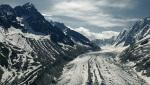 Glacier d'Argentière in the Mont Blanc massif
